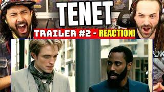 Tenet Trailer #2 - Reaction!  Christopher Nolan | Robert Pattinson | John David Washington