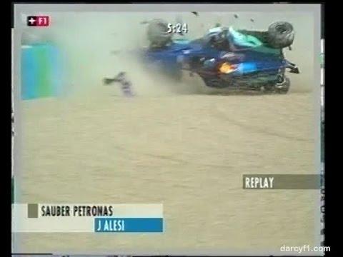 F1 Magny-Cours 1999 - Jean Alesi Crash