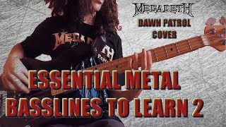 Dawn Patrol Bass Cover. ESSENTIAL METAL BASSLINES TO LEARN (02)