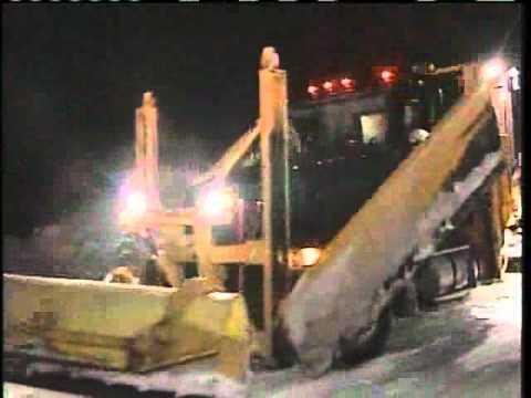 Freezing Rain Creates Challenges For Plow Crews
