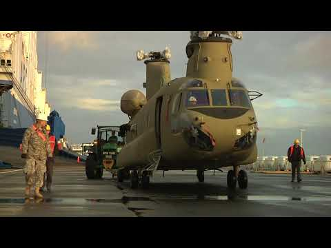 1st Air Cavalry Brigade Arrives In Europe