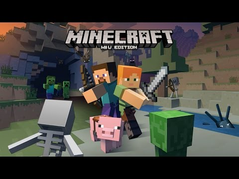 Minecraft : Wii U Edition Gameplay - Early Access