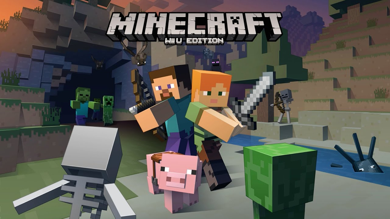 Minecraft Wii U Edition Gameplay Early Access YouTube - Minecraft online spielen wii u