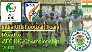 India U16 - AFC U16 Championship   Journey • Goals and highlights