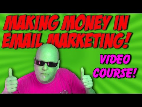 Making Money In Email Marketing