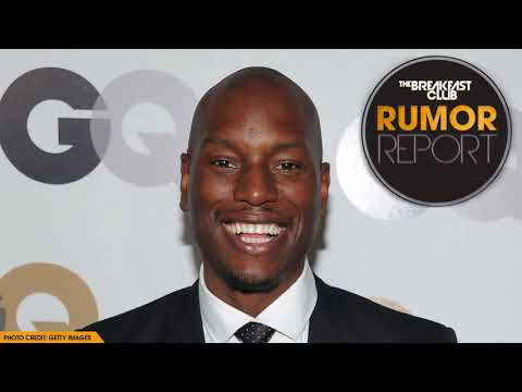 Tyrese Explains The Cause For His Meltdown