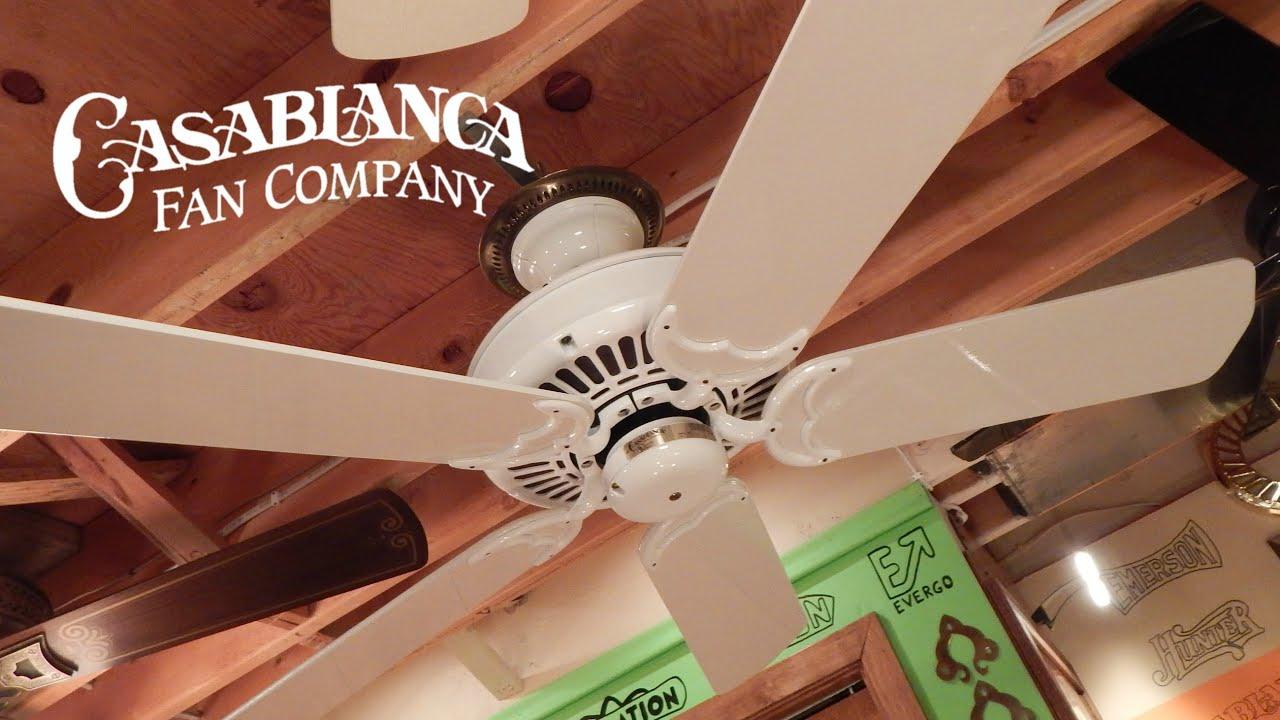 Casablanca panama ceiling fan 1080p hd remake youtube aloadofball Gallery