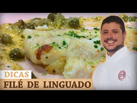 FILÉ DE LINGUADO AO MOLHO DE ALCAPARRAS Com Raul Lemos | DICAS MASTERCHEF