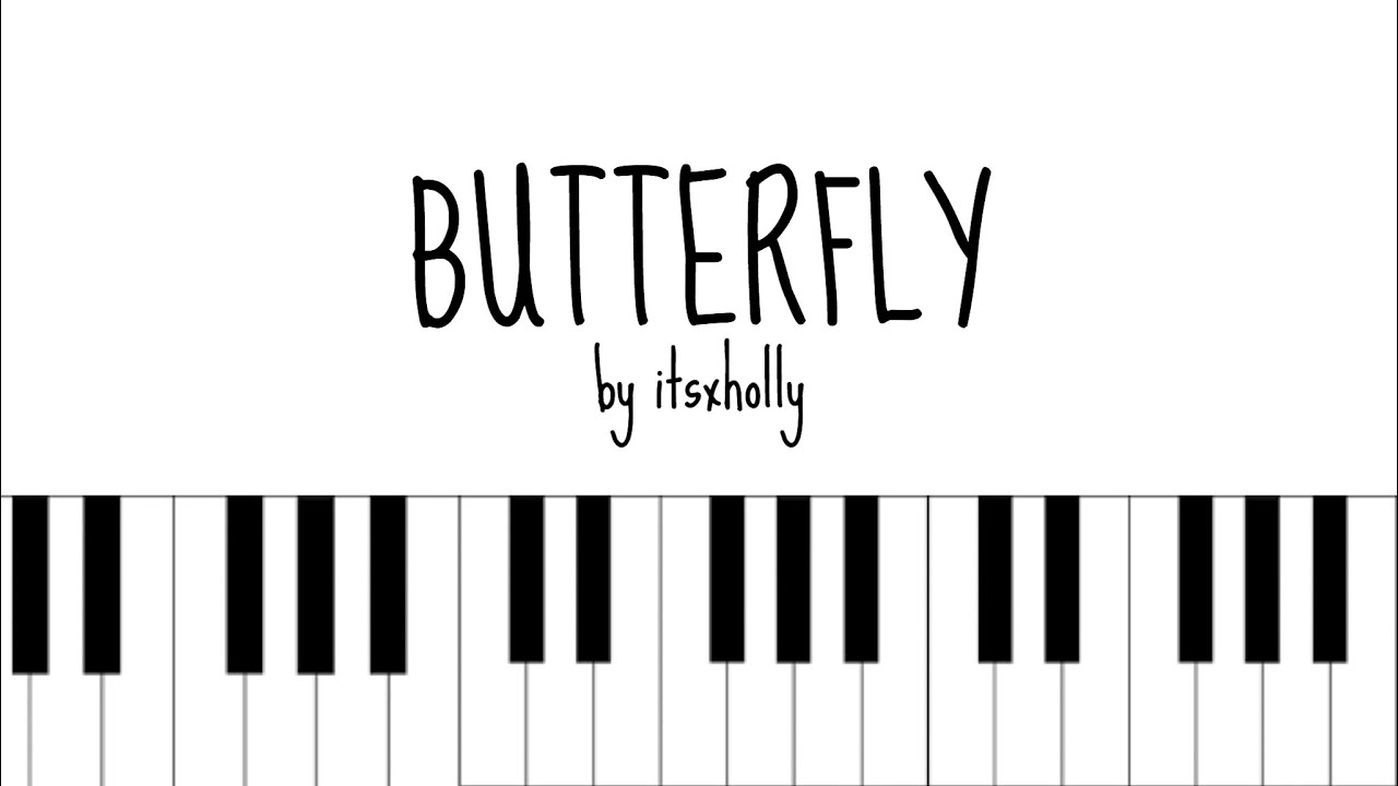 Butterfly Bts Piano Tutorial