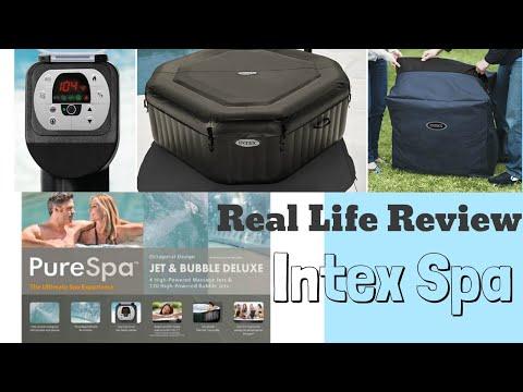 Intex Inflatable Spa Real Life Review