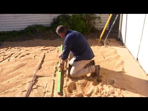 How To Build A Patio Part Two Doovi