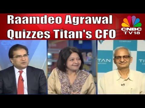 Raamdeo Agrawal Quizzes Titan's S Subramaniam | CNBC TV18