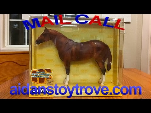 Breyer Horse Mail Call 028 - NIB Treasure Hunt Lady Phase!
