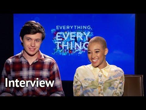 Everything, Everything - Amandla Stenberg & Nick Robinson Interview (2017)
