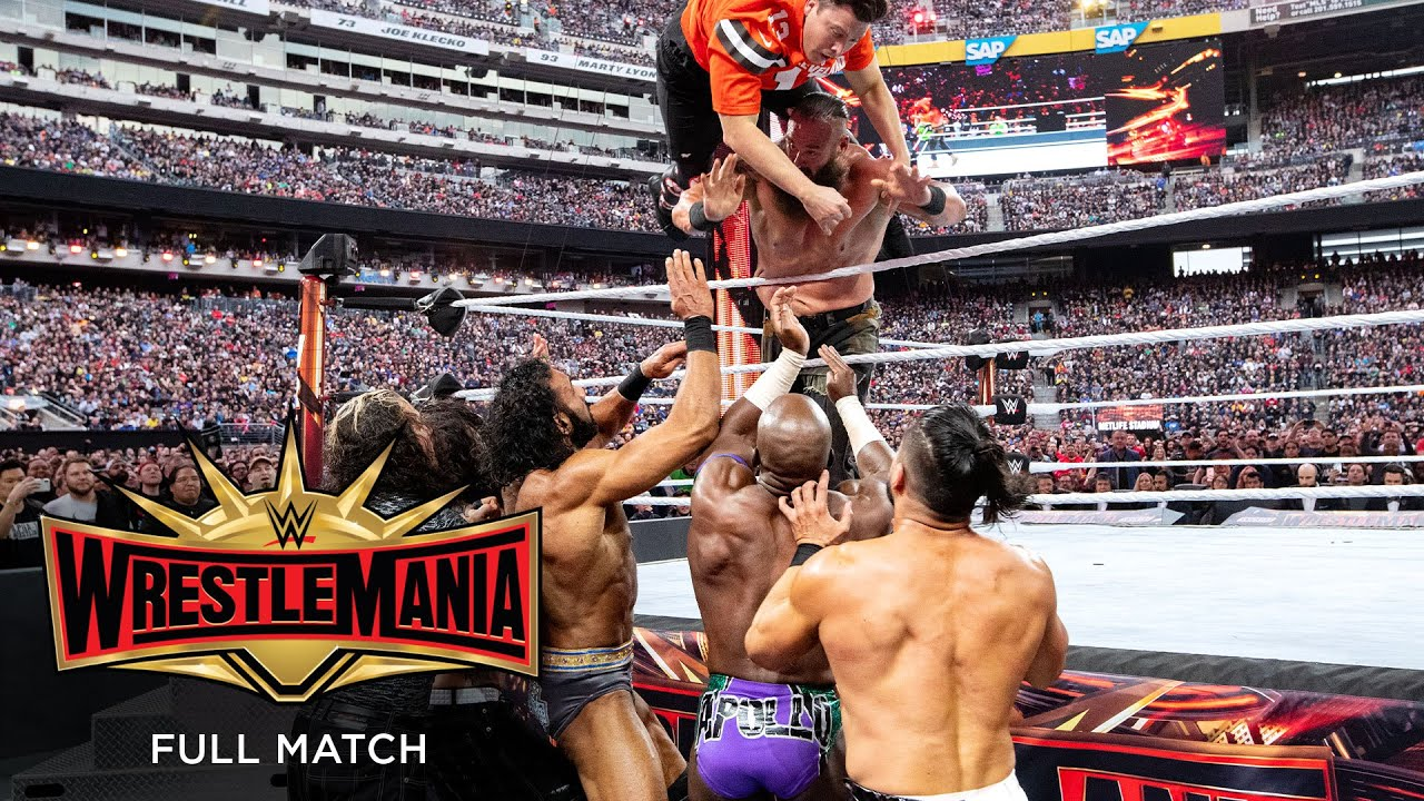 Download FULL MATCH - Andre the Giant Memorial Battle Royal: WrestleMania 35 Kickoff
