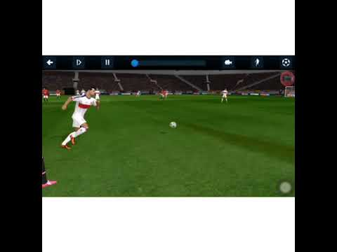 Dream league soccer replay with skillfull goals