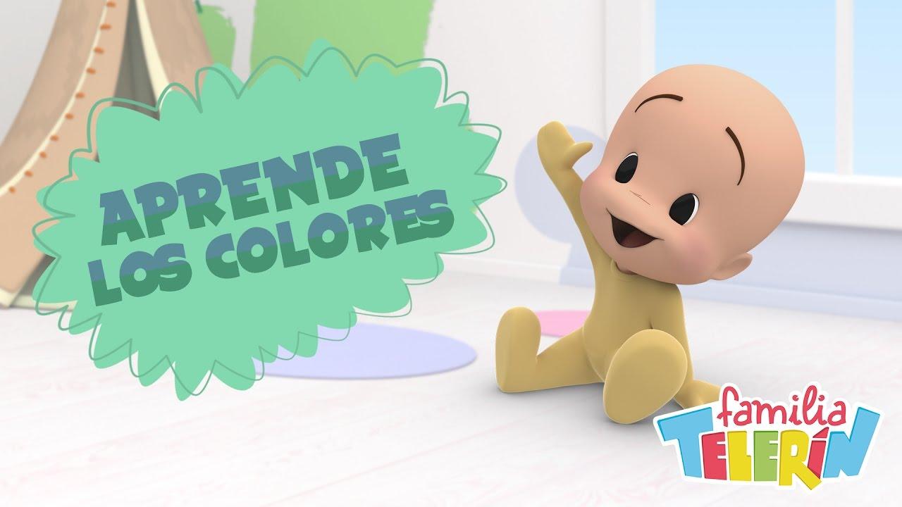Familia Telerin Aprende Los Colores Con Cuquín Vídeo Educativo Para Niños De 0 A 4