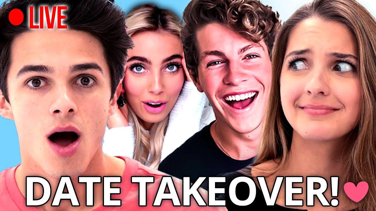 Best friend picks my date?! Brent Rivera, Lexi Rivera, Ben Azelart & MORE | AwesomenessTV