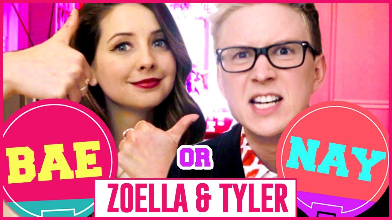 Miley, SnapChat, And Photobombing: Zoella & Tyler Oakley
