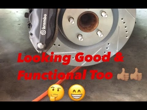 2016 Dodge Challenger R T Pack Brake Pads And Rotors Install