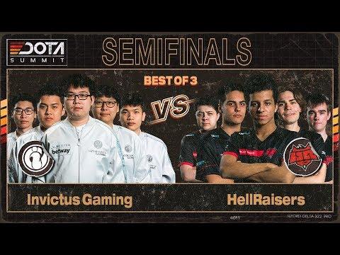 Invictus Gaming vs HellRaisers vod