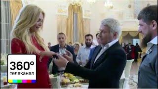 Басков сделал предложение телеведущей Виктории Лопыревой