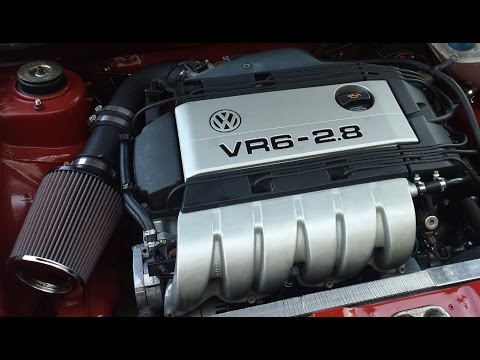 VW MK1 VR6 Sound Test and Test Drive