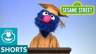 Sesame Street: Grover's Graduation Speech | #ELMOtivation