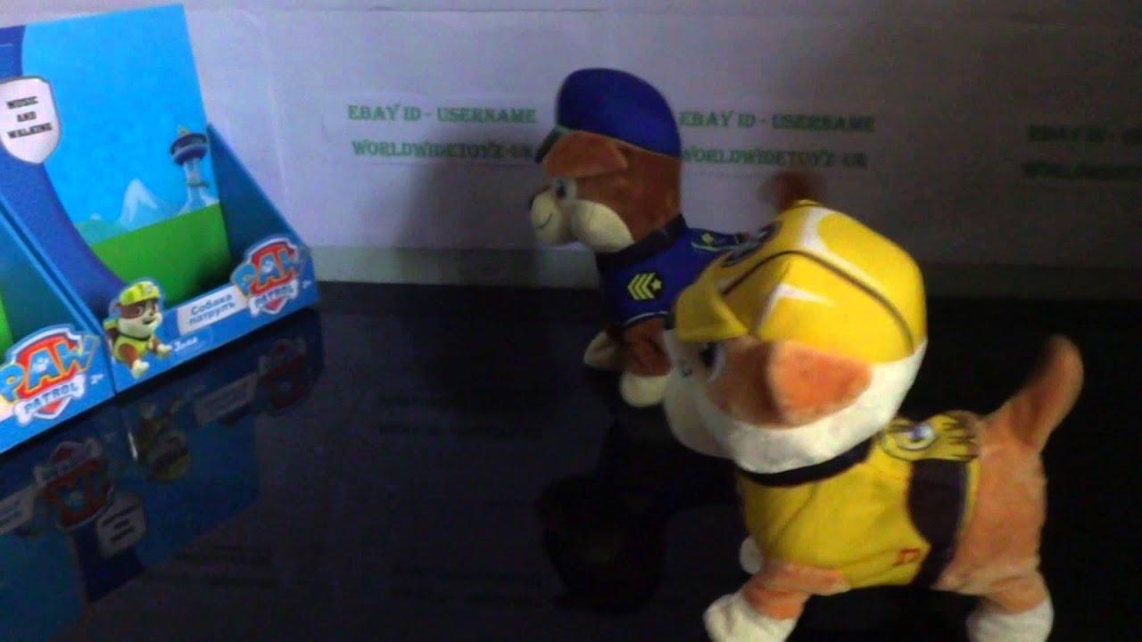 Paw Patrol Walking Singing Toys 2015 Youtube