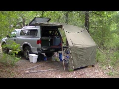 Budget Pickup Truck Cap Camper Build Update Youtube