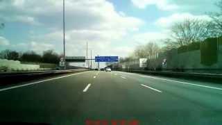 Autobahn 1 Köln Richtung Dortmund (Leverkusener Brücke) (von Köln-Niehl zum Kreuz Leverkusen-West)
