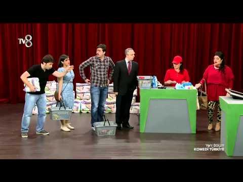 Komedi Türkiye - Tuğçe Karabayır'ın Market Kuyruğu Skeci (1.Sezon 7.Bölüm)