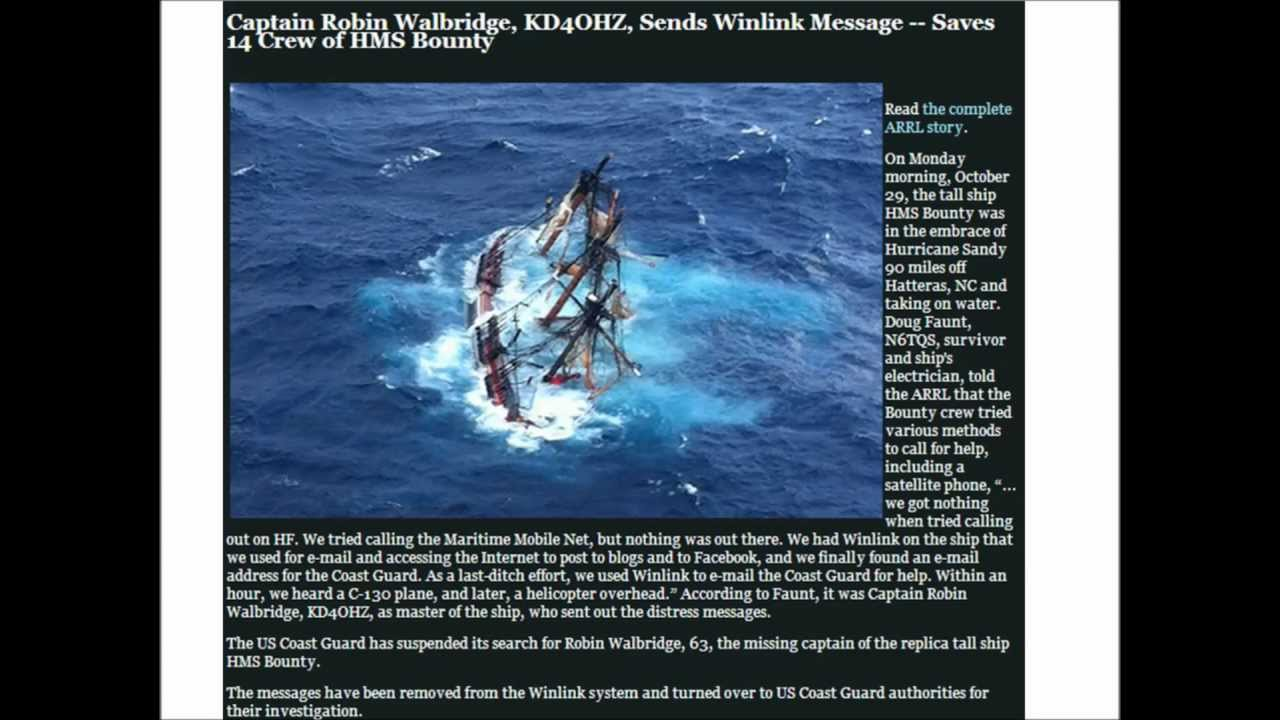 Winlink - HF and VHF Radio Email For Emergencies and SHTF