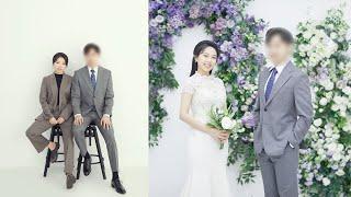 밍찌 결혼 사진 같이 봐용? | 웨딩 스튜디오 사진 리…