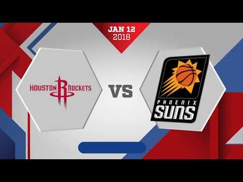 Houston Rockets vs. Phoenix Suns - January 12, 2018