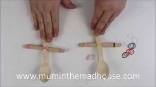 Popsicle Craft Stick Catapult