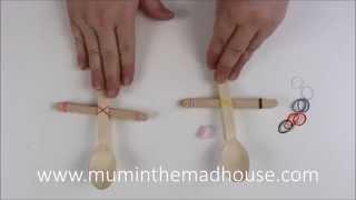 Popsicle Craft Stick Catapult