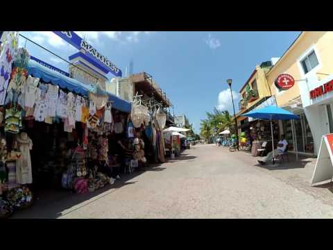 Playa del Carmen - Beach and 5th ave - Riviera Maya - Mexico - HD1080p