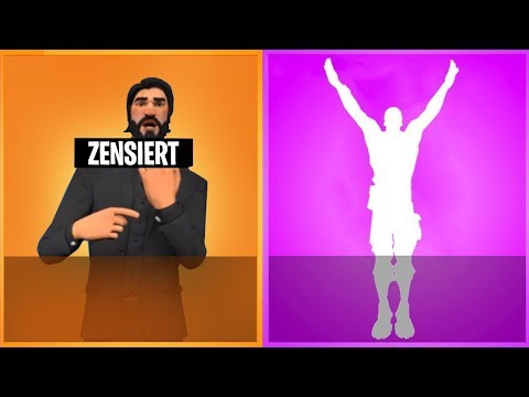 Diese 7 Emotes wurden aus Fortnite VERBANNT!