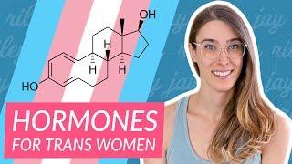 How hormones (HRT) change a trans woman's body | Riley J. Dennis