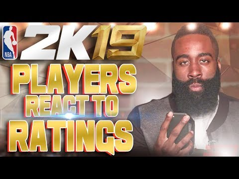 NBA PLAYERS REACT TO THEIR NBA 2K19 RATING!