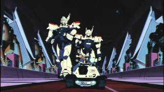 Patlabor the Movie - Noa and Ohta vs. the guard robots (dubbed)