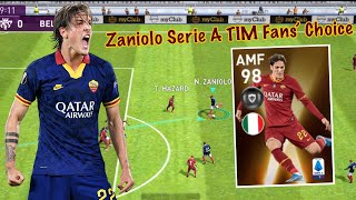 Review Best Young Player AMF 98 Rating ZANIOLO - Pes 2020 Mobile