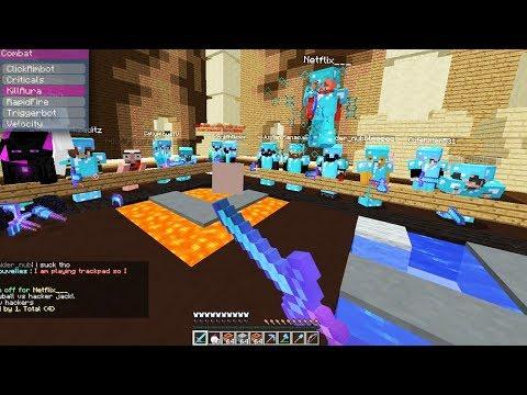 Using Kill Aura Hacks On Minecraft Kill Aura Hackers
