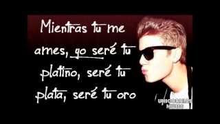 As Long As You Love Me - Justin Bieber  (Traducida en Español)