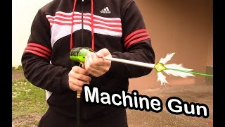 How to Make a Full Auto Airsoft BB Machine Gun