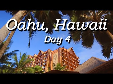 Oahu Hawaii 2014 - Day 4