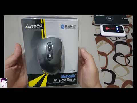 Wireless Mouse A4tech BT630N Unboxing & Installation