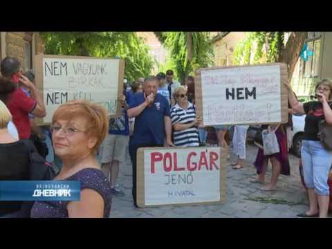 Protest novinara Mađar soa i Het napa