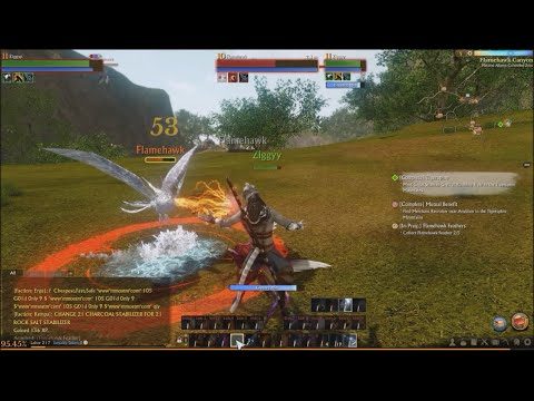 ArcheAge-EP6-Ziggy hunts the Reedpipe Achassi Chief, Hulk Slave Drivers & frees slaves & more-1080p